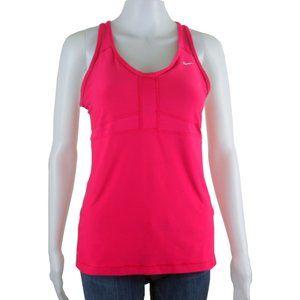 NIKE Women's Dri-Fit Pink Tank Top